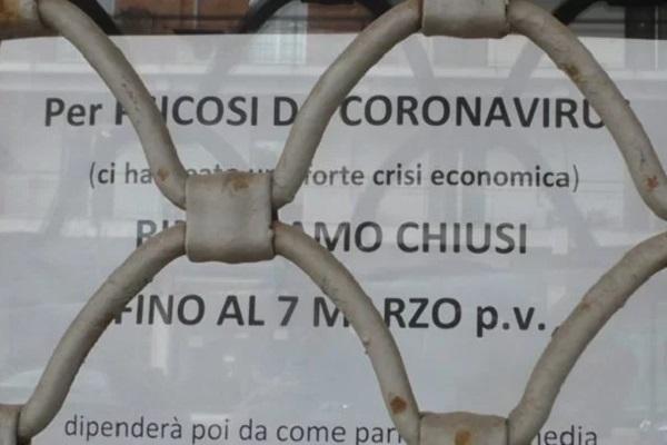 Le conseguenze economiche della paralisi-coronavirus