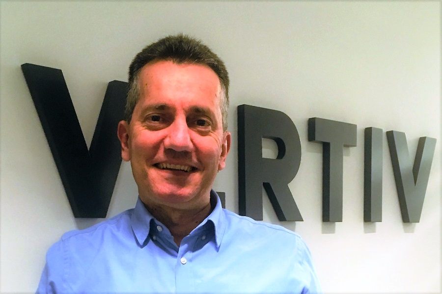 Paolo Gattagrisa è Vice President e CFO di Vertiv in EMEA
