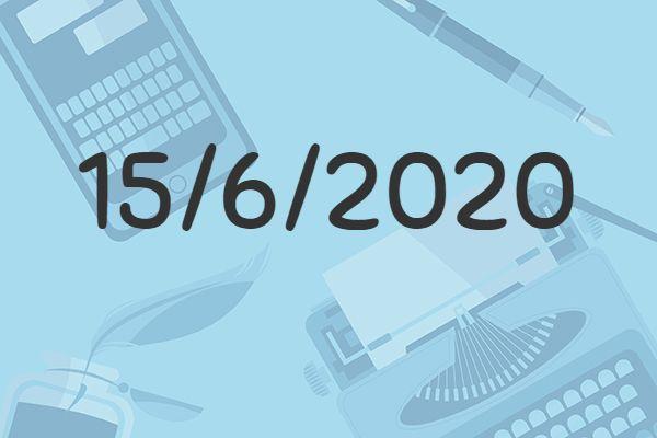 Il Buongiorno di PdM: lunedì 15 giugno 2020