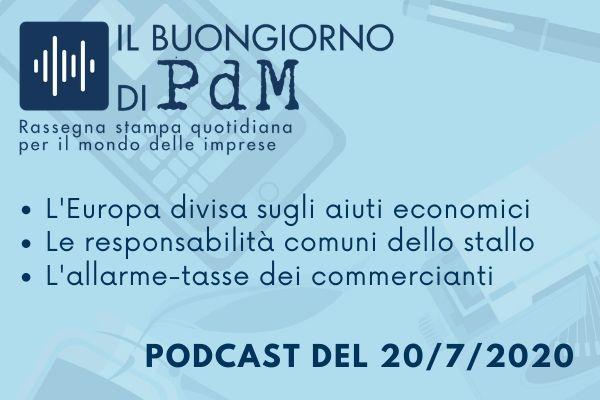 Il Buongiorno di PdM: l'Europa vittima di se stessa
