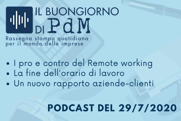 Il Buongiorno di PdM: il lavoro agile non è la soluzione a tutti i problemi