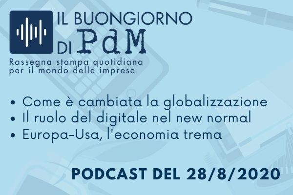 Il Buongiorno di PdM: l'effetto covid su globalizzazione e digitalizzazione