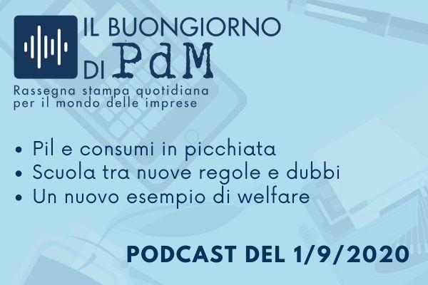 Il Buongiorno di PdM: Pil e consumi in caduta libera
