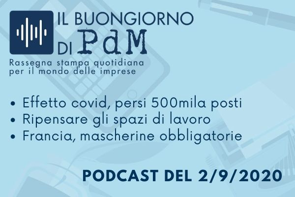 Il Buongiorno di PdM: lavoro, dall'Italia all'estero tutti in fase di sperimentazione