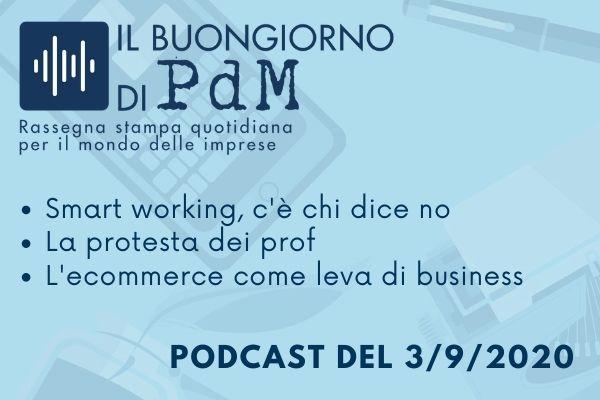 Il Buongiorno di PdM: lo Smart working non è la soluzione a tutto