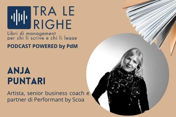 Tra le righe:  Anja Puntari e l'arte nel management