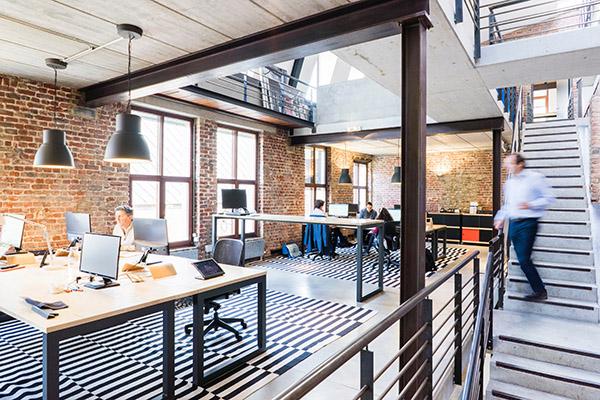 Ambienti flessibili come ufficio del futuro