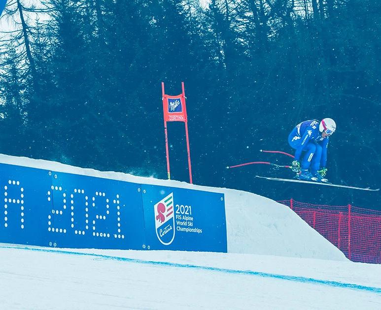 Mondiali di sci: a Cortina lo sport (digitale) si mette in mostra