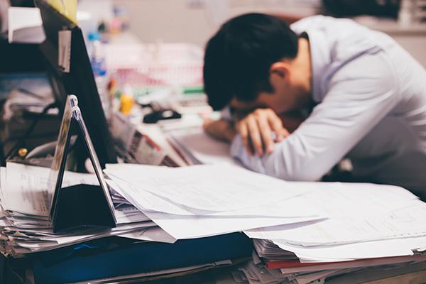 I pericoli dell'eccesso di lavoro