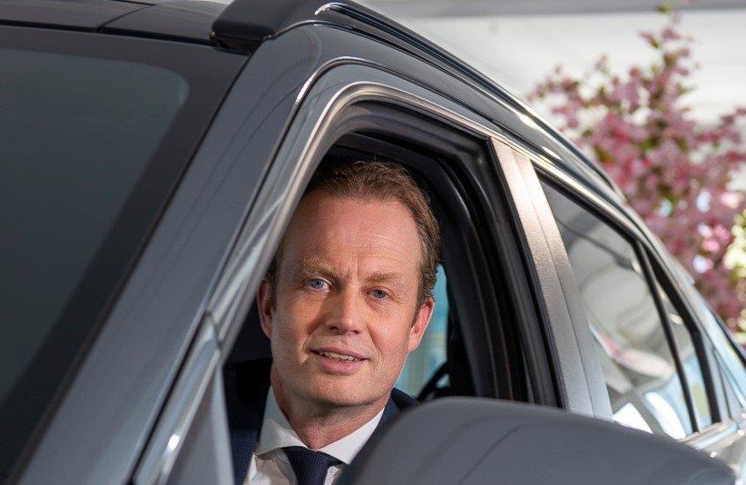 Frank Krol è Presidente e CEO di Mitsubishi Motors Europe