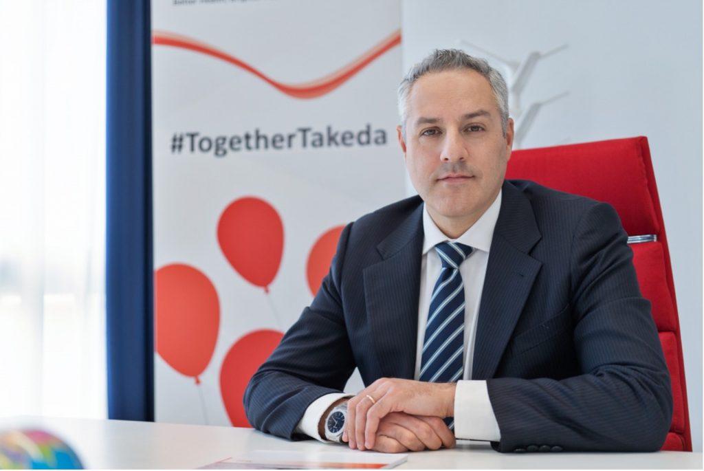 Stefano Sommella è Business Unit Director in Takeda Italia
