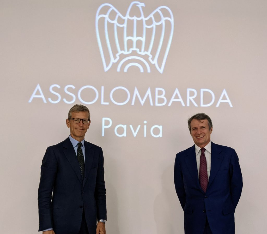 Nicola de Cardenas eletto alla guida degli industriali pavesi