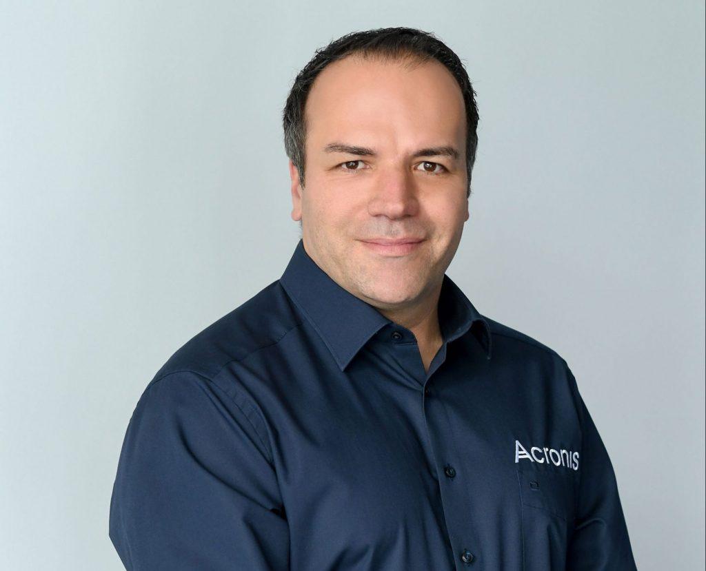 Patrick Pulvermueller è CEO di Acronis